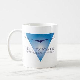 Blue Triangle Logo Mug
