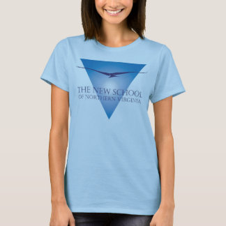 Blue Triangle Logo Women's T-Shirt