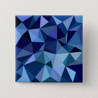 Blue triangles pinback button