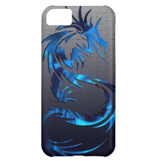 Blue tribal dragon phone case iPhone 5C covers