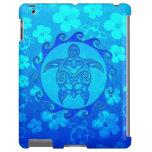 Blue Tribal Turtle Sun