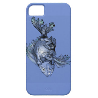 "Blue ""Trojan Fish"" Design on iPhone case iPhone 5 Cover"