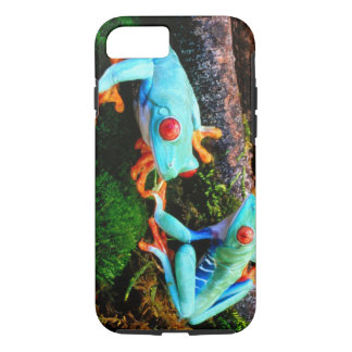 Blue Tropic Frogs iPhone 8/7 Case