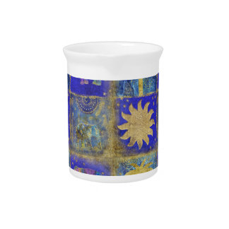 Blue tropical dream beverage pitcher