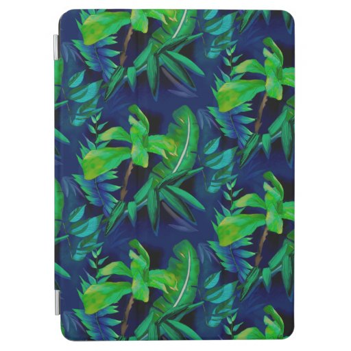 Blue tropical heaven iPad air cover