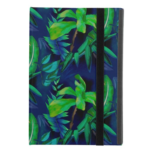 Blue tropical heaven iPad mini 4 case