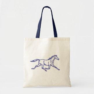 Blue Trotter Tote Bag