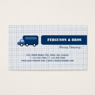 Blue Truck Business Card