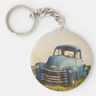 Blue Truck, North Fork, KeyChain