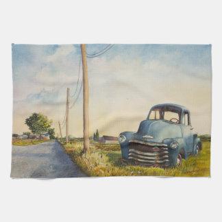 Blue Truck, North Fork, Towel