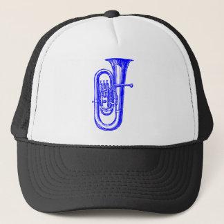 Blue Tuba Trucker Hat