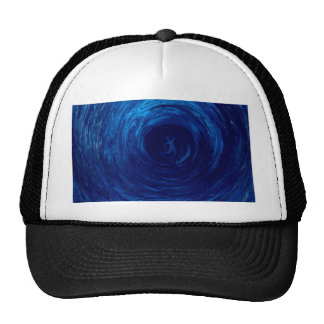 Blue tube by rafi talby mesh hats