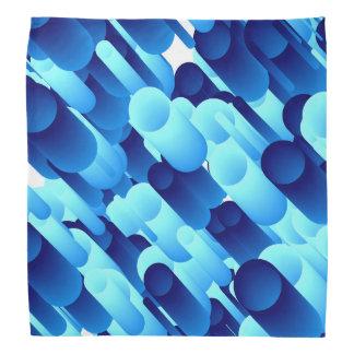 Blue tubes bandana
