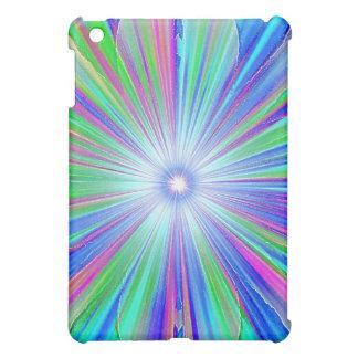 Blue Tufted Rainbow Speck Case iPad Mini Case