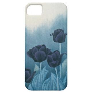 Blue Tulip iPhone 5 Case