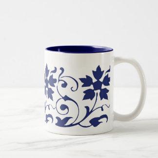 blue tulip mug