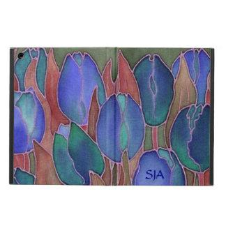 Blue Tulips Design iPad Air Case