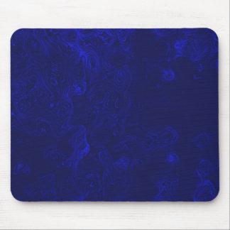 Blue turbulences mousepad