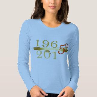 Blue - Turning 50 Long Sleeve Tee Shirt