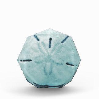 Blue Turq Sand Dollar Acrylic Award