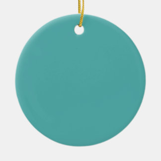 Blue Turquoise Background. Fashion Color. Elegant Christmas Ornament