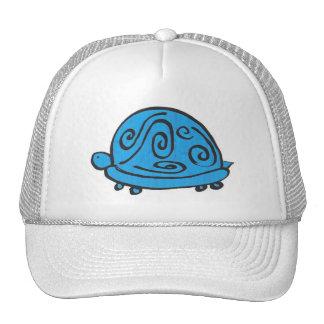 Blue Turtle Mesh Hat