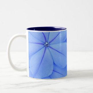 Blue Two-Tone Coffee Mug