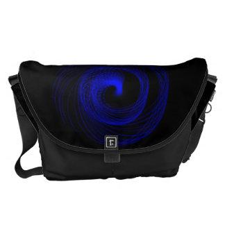 Blue Typhoon Messenger Bag