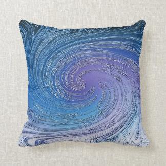 Blue Typhoon Pillows