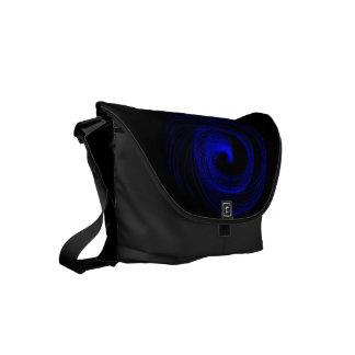 Blue Typhoon Small Messenger Bag