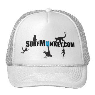 "Blue ""U"" in Hanging Munkeys design Trucker Hat"