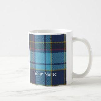 Blue U.S.A.F tartan pattern Coffee Mug