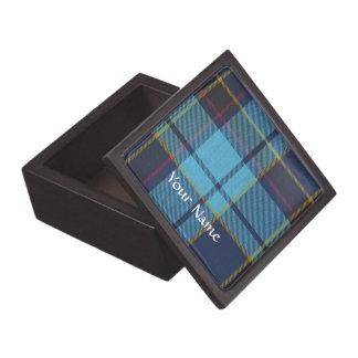 Blue U.S.A.F tartan pattern Jewelry Box