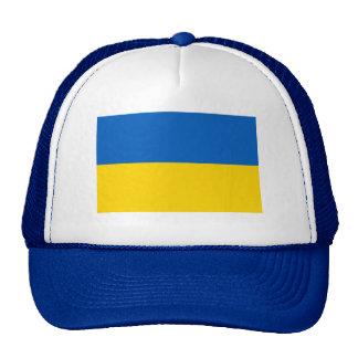 BLUE Ukraine National Flag Trucker Hat
