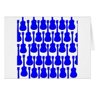 Blue Ukuleles Card
