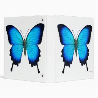 Blue Ulysses Butterfly Avery Binder