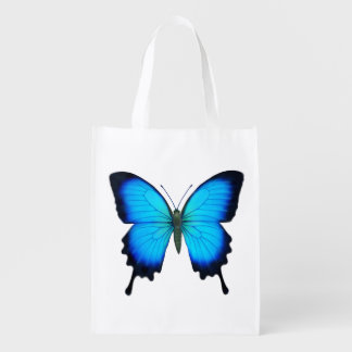 Blue Ulysses Butterfly Grocery Tote Bag Market Totes