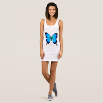 Blue Ulysses Butterfly Tank Dress