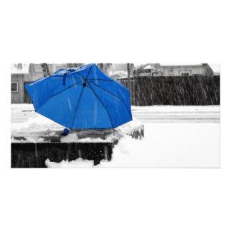 Blue Umbrella Card