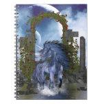 Blue Unicorn 2 Spiral Notebooks