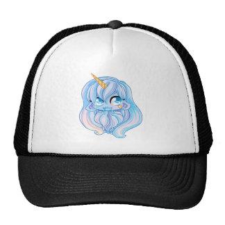 Blue Unicorn girl Trucker Hat