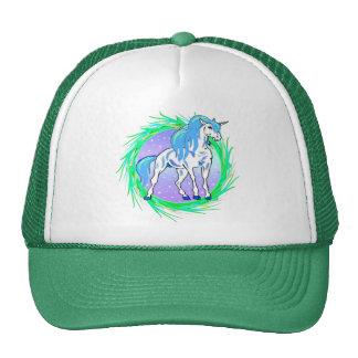 Blue Unicorn Hats
