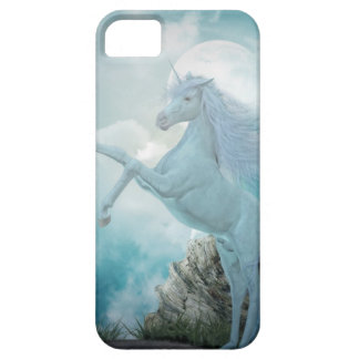 blue unicorn iPhone SE/5/5s case