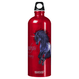 Blue Unicorn Liberty Bottle SIGG Traveler 1.0L Water Bottle