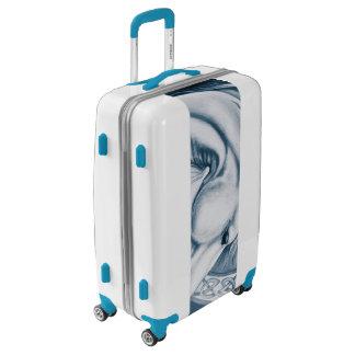 Blue Unicorn Luggage