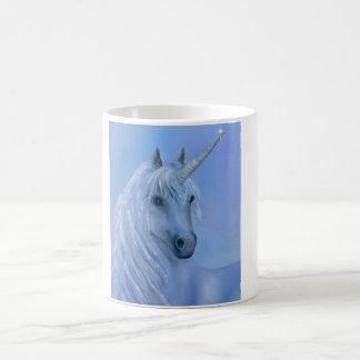 Blue unicorn magical cup