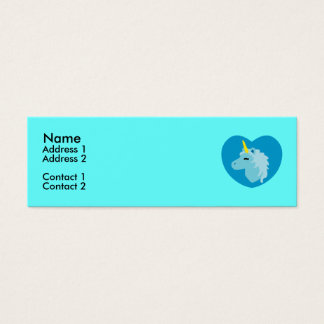 Blue Unicorn Profile Cards