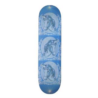 Blue Unicorn Skate Decks