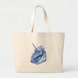Blue Unicorn Tote