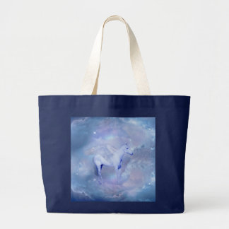 Blue Unicorn with wings fantasy Bag